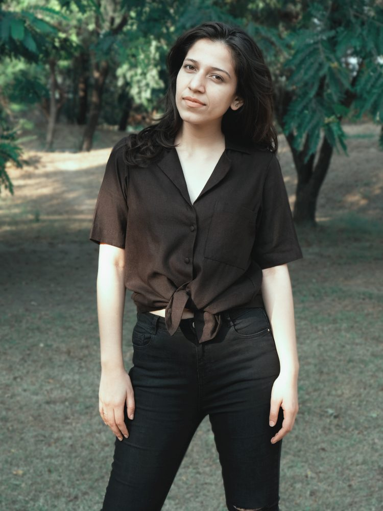 Black Coat Collar Shirt